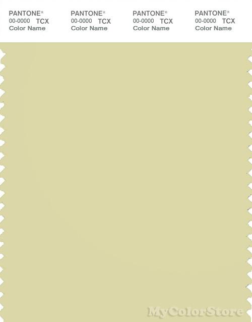 PANTONE SMART 13-0614X Color Swatch Card, Garden Glade