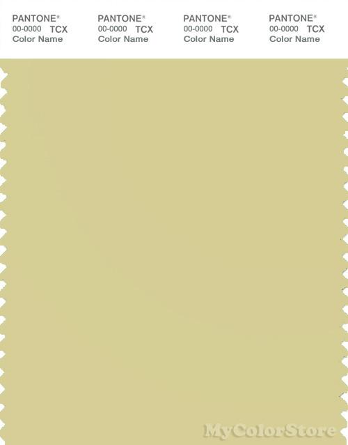 PANTONE SMART 13-0624X Color Swatch Card, Golden Mist