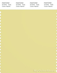 PANTONE SMART 13-0633X Color Swatch Card, Chardonnay