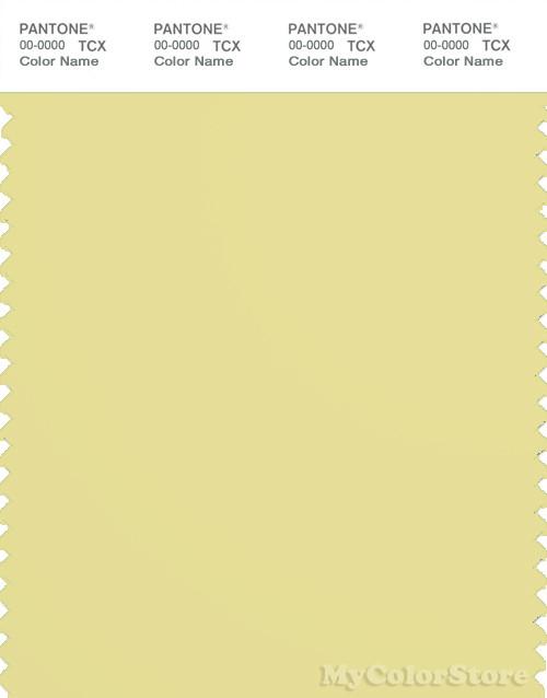 PANTONE SMART 13-0633X Color Swatch Card, Chardonnay