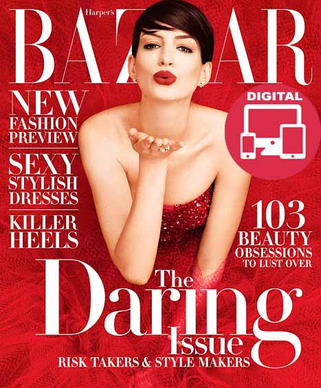 Harper's Bazaar Magazine  (US) - (DIGITAL EDITION)