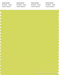 PANTONE SMART 13-0645X Color Swatch Card, Limeade
