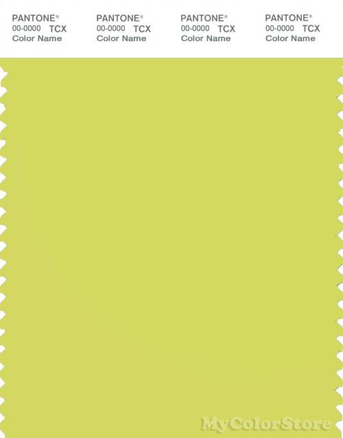 PANTONE SMART 13-0645X Color Swatch Card, Limeade