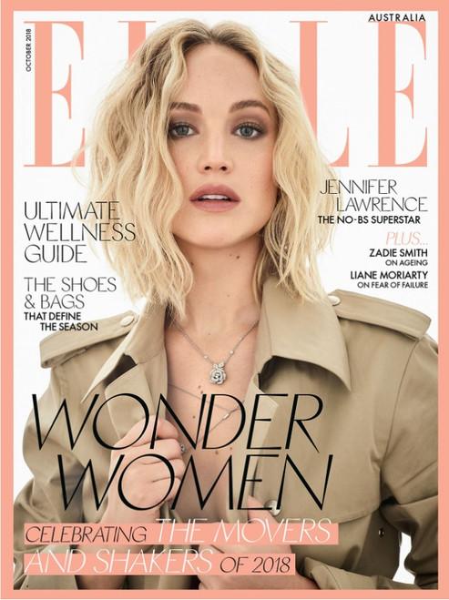 Elle Magazine  (Australia) - 12 issues/yr. Via Air