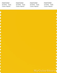 PANTONE SMART 13-0752X Color Swatch Card, Lemon