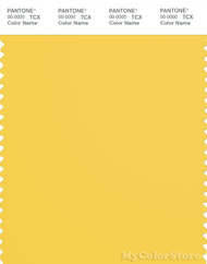 PANTONE SMART 13-0755X Color Swatch Card, Primrose Yellow