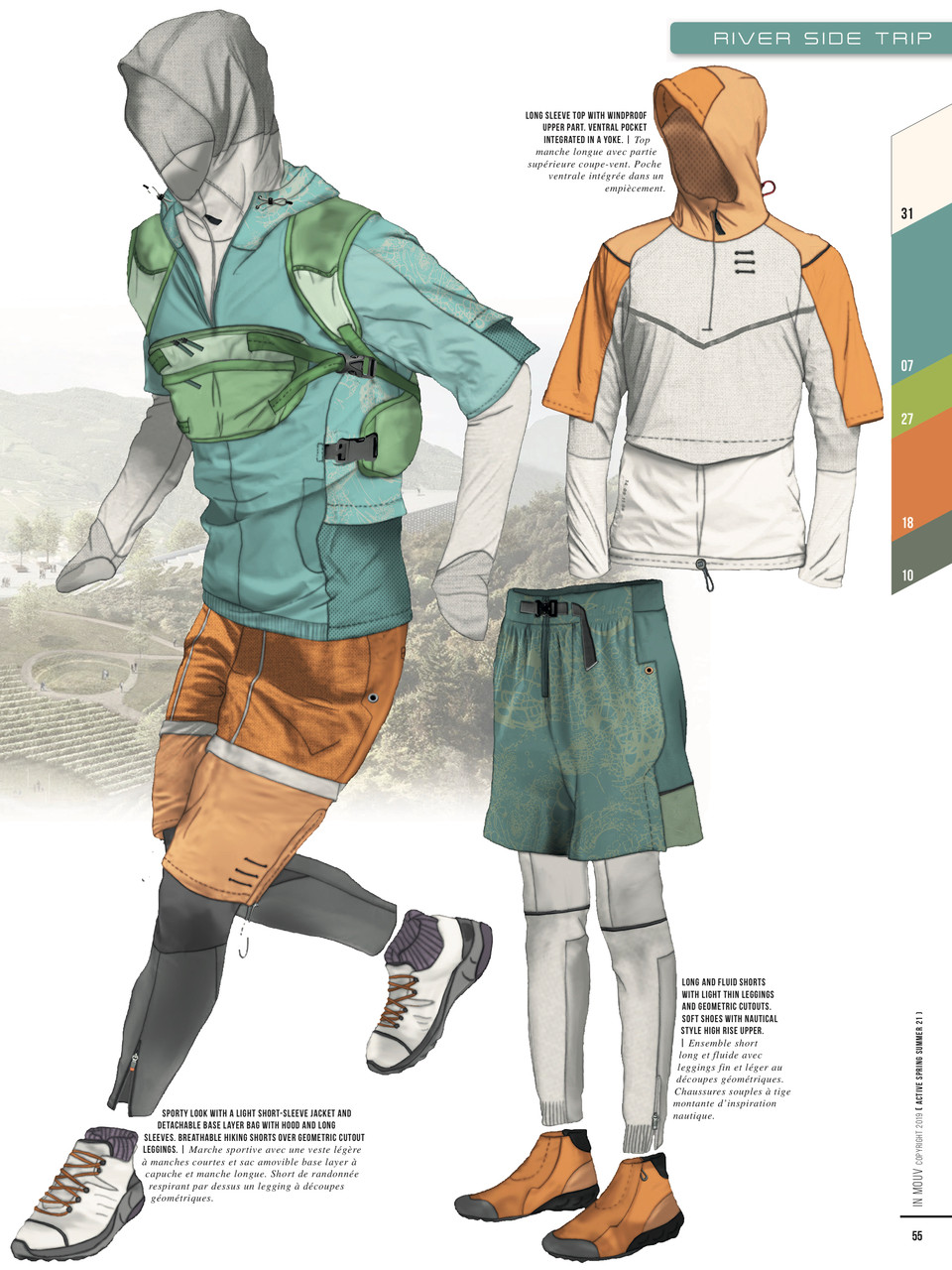 Inmouv - Active Sport Fashion S/S 2021 Trend Forecast for Activwear
