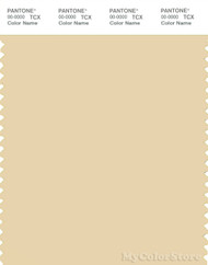 PANTONE SMART 13-0815X Color Swatch Card, Banana Crepe
