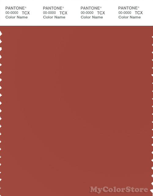 PANTONE SMART 18-1540X Color Swatch Card, Cinnabar