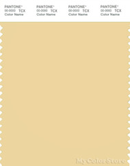 PANTONE SMART 13-0822X Color Swatch Card, Sunlight