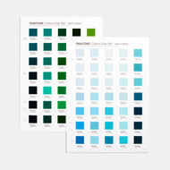 Pantone Fashion,  Home + Interiors Cotton Chipset Supplement | FHIC410A
