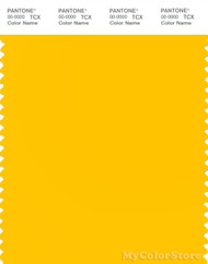 PANTONE SMART 13-0859X Color Swatch Card, Lemon Chrome