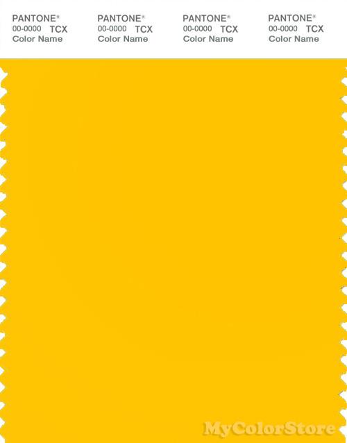 PANTONE SMART 13-0859X Color Swatch Card, Lemon Chrome