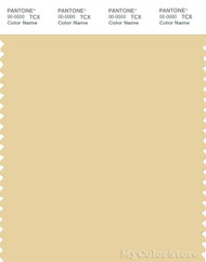 PANTONE SMART 13-0917X Color Swatch Card, Italian Straw