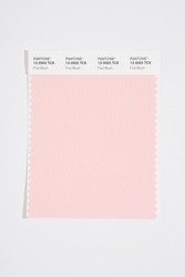 Pantone Smart 13-2003 TCX Color Swatch Card, First Blush