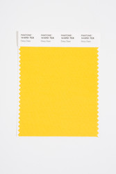 Pantone Smart 14-0751 TCX Color Swatch Card, Daisy Daze