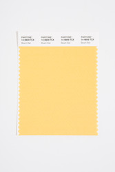 Pantone Smart 14-0849 TCX Color Swatch Card, Beach Ball