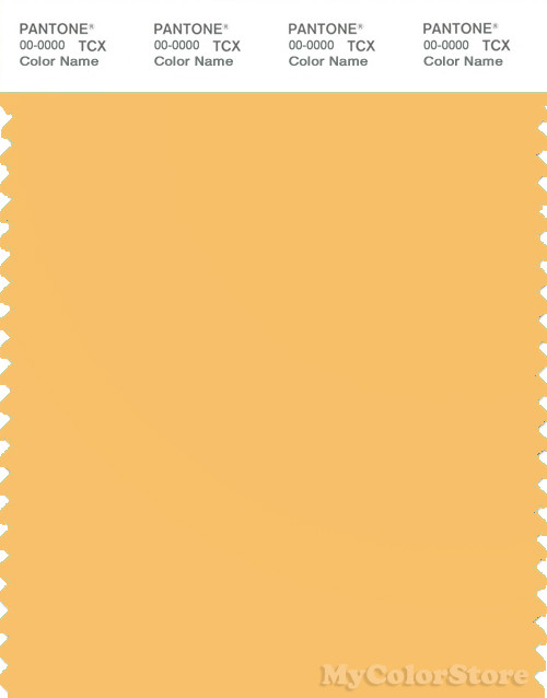 PANTONE SMART 13-0939X Color Swatch Card, Golden Cream