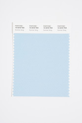 Pantone Smart 14-4316 TCX Color Swatch Card, Summer Song