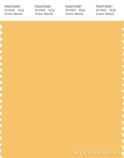 PANTONE SMART 13-0940 TCX Color Swatch Card | Pantone Sunset