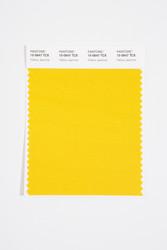 Pantone Smart 15-0647 TCX Color Swatch Card, Yellow Jasmine