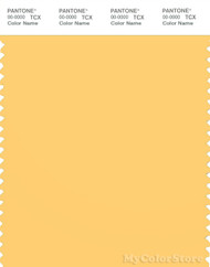 PANTONE SMART 13-0941X Color Swatch Card, Banana Cream