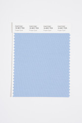 Pantone Smart 15-3917 TCX Color Swatch Card, Frozen Fjord