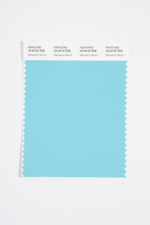 Pantone Smart 15-4710 TCX Color Swatch Card, Barbados Beach