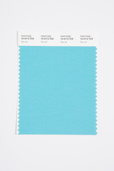 Pantone Smart 15-4713 TCX Color Swatch Card, Sea Jet