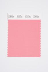 Pantone Smart 16-1615 TCX Color Swatch Card, Flamingo Plume