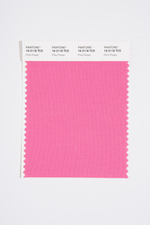 Pantone Smart 16-2118 TCX Color Swatch Card, Pink Power