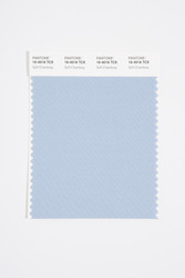 Pantone Smart 16-4016 TCX Color Swatch Card, Soft Chambray