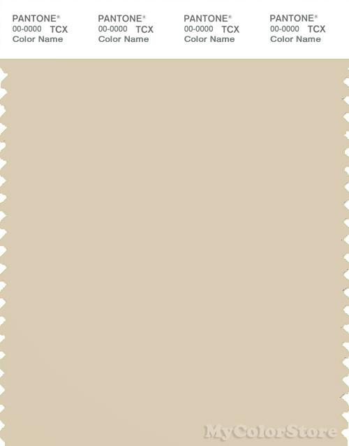 PANTONE SMART 13-1008X Color Swatch Card, Bleached Sand