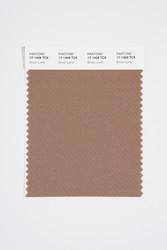 Pantone Smart 17-1409 TCX Color Swatch Card, Brown Lentil