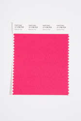 Pantone Smart 17-1739 TCX Color Swatch Card, Rethink Pink