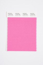 Pantone Smart 17-2619 TCX Color Swatch Card, Strawberry Moon