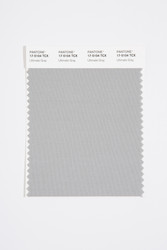 Pantone Smart 17-5104 TCX Color Swatch Card, Ultimate Gray