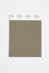 Pantone Smart 18-0516 TCX Color Swatch Card, Smokey Olive