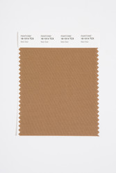 Pantone Smart 18-1014 TCX Color Swatch Card, Malt Ball