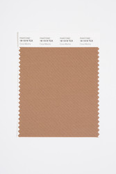 Pantone Smart 18-1019 TCX Color Swatch Card, Coca Mocha