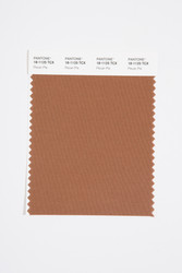 Pantone Smart 18-1125 TCX Color Swatch Card, Pecan Pie