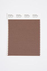 Pantone Smart 18-1307 TCX Color Swatch Card, Coffee Quartz