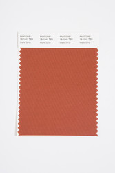 Pantone Smart 18-1341 TCX Color Swatch Card, Maple Syrup