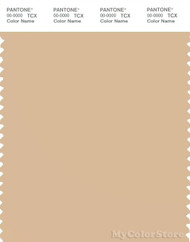 PANTONE SMART 13-1014X Color Swatch Card, Mellow Buff