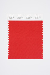 Pantone Smart 18-1453 TCX Color Swatch Card, Fire Whirl