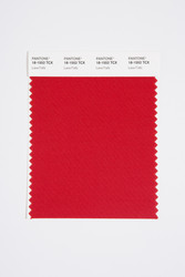 Pantone Smart 18-1552 TCX Color Swatch Card, Lava Falls