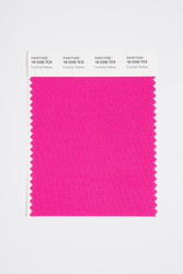 Pantone Smart 18-2330 TCX Color Swatch Card, Fuchsia Fedora