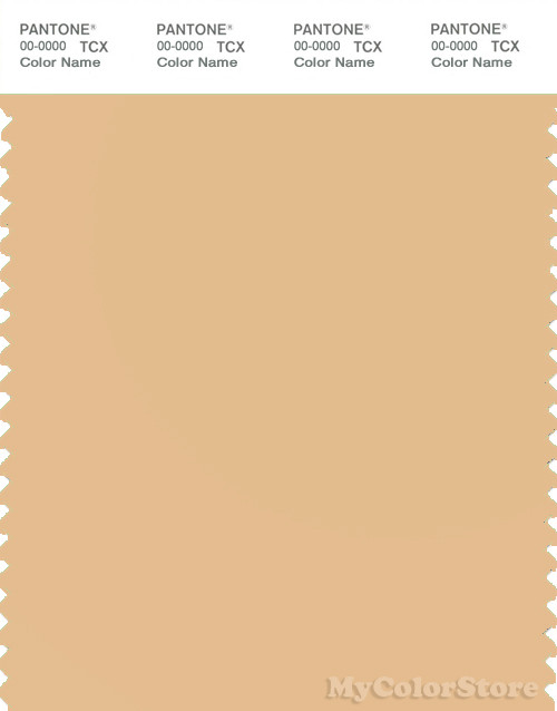 PANTONE SMART 13-1018X Color Swatch Card, Desert Dust