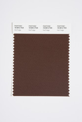 Pantone Smart 19-0913 TCX Color Swatch Card, Hot Fudge