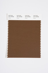 Pantone Smart 19-1119 TCX Color Swatch Card, Cocoa